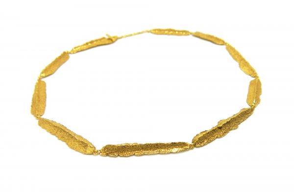 colar dourado line
